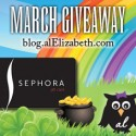 March 2012 Giveaway - Sephora