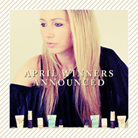 April 2012 Winners Announced