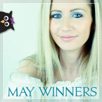 May 2012 Beauty Giveaway Winners Announced