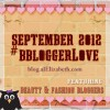 September 2012 bblogger Love