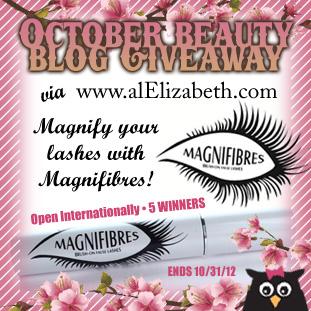 October 2012 Giveaway - Magnifibres