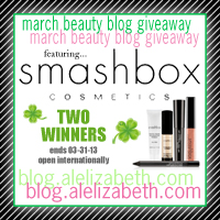 March 2013 Giveaway - Smashbox