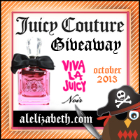 October 2013 Giveaway - Juicy Couture