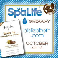 October 2013 Giveaway - My Spa Life