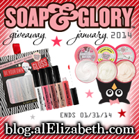 January 2014 Giveaway - Soap & Glory