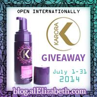 July 2014 Giveaway - Karora
