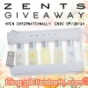 September Beauty Giveaway - Zents