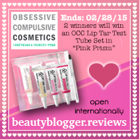 February 2015 Beauty Giveaway - Obsessive Compulsive Cosmetics