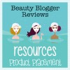 Beauty Blogger Resources : Product Placement