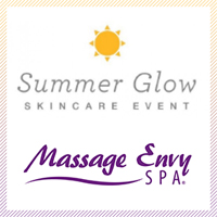Massage Envy Summer Glow Event