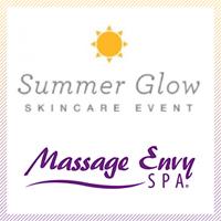 Massage Envy Summer Glow Event