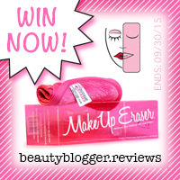 September 2015 Beauty Giveaway - MakeUp Eraser