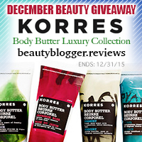 December 2015 Beauty Giveaway - Korres
