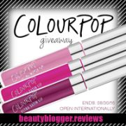 August 2016 Beauty Blog Giveaway - ColourPop